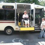 Загрузка в автобус
