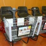 Скутер в супермаркете
